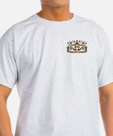 Live Love Library Work T-Shirt