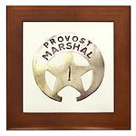 Provost Marshal Framed Tile