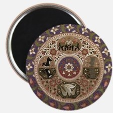 "Wheel of Life 2.25"" Magnet (10 pack)"