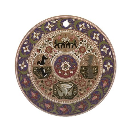Wheel of Life Ornament (Round)