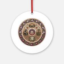 Wheel of Life Ornament (Round)