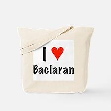 I love Baclaran Tote Bag