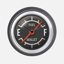 Gas Gauge Wall Clock
