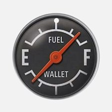 Gas Gauge Ornament (Round)