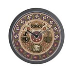Wheel of Life Wall Clock