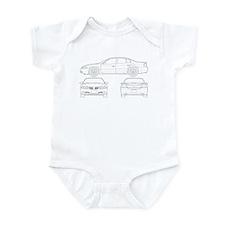 Pontiac Bonneville Infant Bodysuit