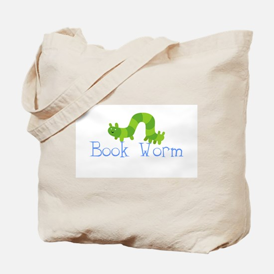 Boys Book Worm Library/Tote Bag