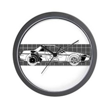 Pontiac Fiero Wall Clock