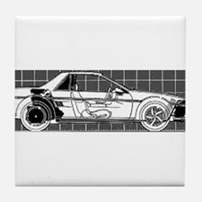 Pontiac Fiero Tile Coaster