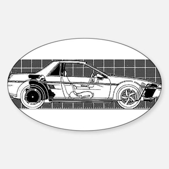 Pontiac Fiero Oval Decal