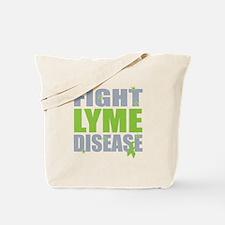 Fight Lyme Disease Tote Bag