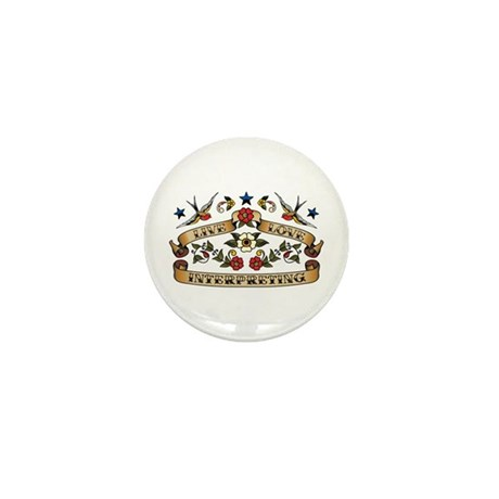 Live Love Interpreting Mini Button (100 pack)
