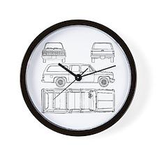 Chevy Suburban Wall Clock