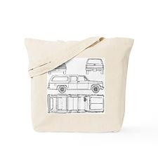 Chevy Suburban Tote Bag