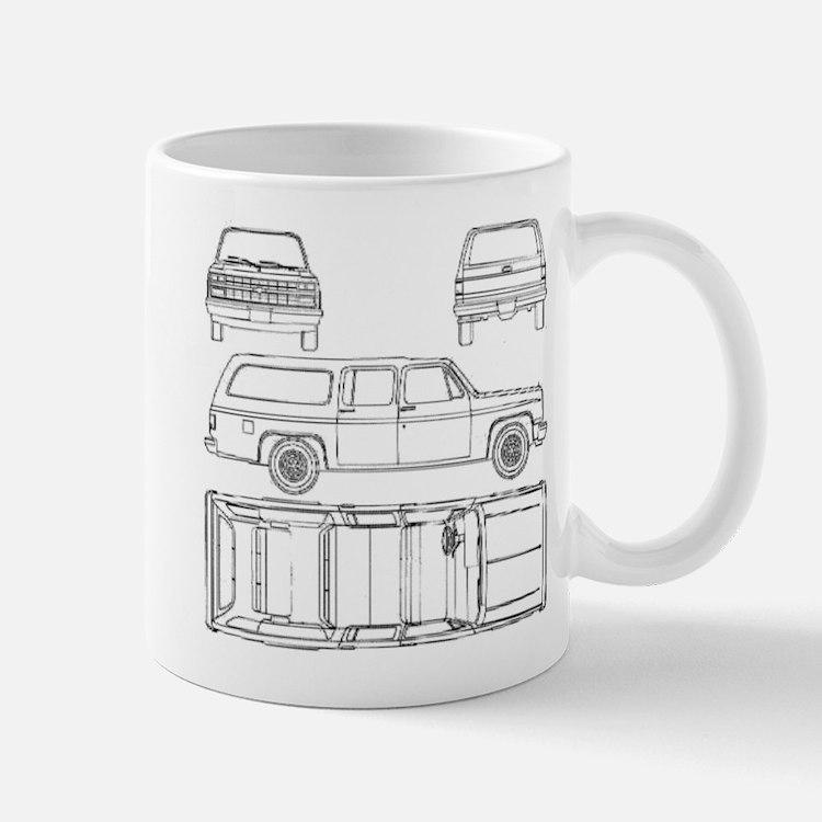 Chevy Suburban Mug
