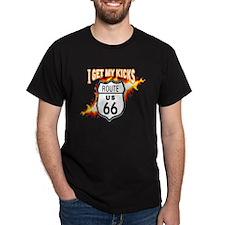 I Get My Kicks on Rt. 66 T-Shirt