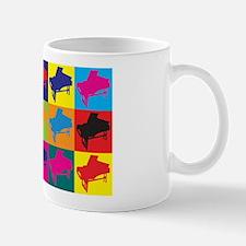 Harpsichord Pop Art Mug