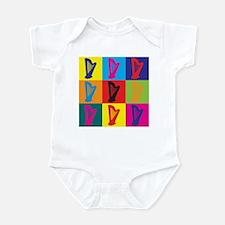 Harp Pop Art Infant Bodysuit