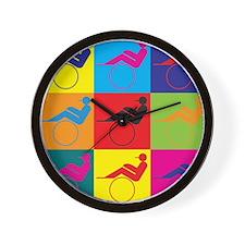 Harness Racing Pop Art Wall Clock