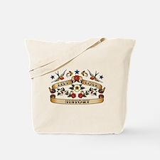 Live Love History Tote Bag