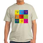 Hang Gliding Pop Art Light T-Shirt