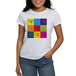 Hang Gliding Pop Art Women's T-Shirt