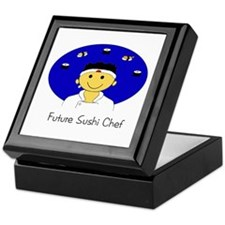 Future Sushi Chef Keepsake Box