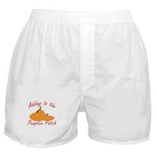 Pumpkin Patch Boxer Shorts