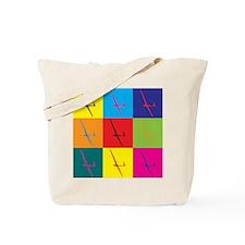 Gliding Pop Art Tote Bag