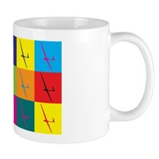 Gliding Pop Art Small Mug