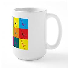 Gliding Pop Art Mug