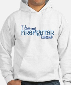 I love my Firefighter husband Hoodie