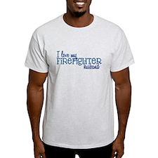 I love my Firefighter husband T-Shirt
