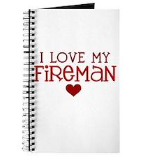 I love my fireman Journal