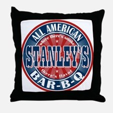 Stanley's All American BBQ Throw Pillow
