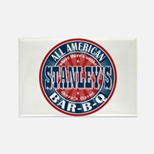 Stanley's All American BBQ Rectangle Magnet