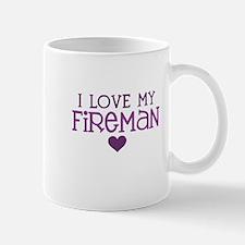 I love my fireman Mug