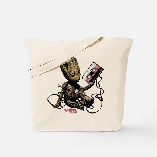GOTG Groot Cassette Tote Bag