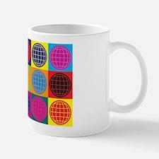 Geography Pop Art Mug