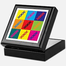 Genetics Pop Art Keepsake Box