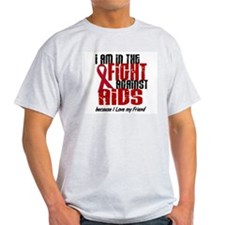 In The Fight Against AIDS 1 (Friend) T-Shirt