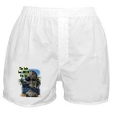 C'mon Smoke Some Jamaican Gre Boxer Shorts