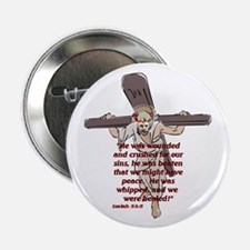 """For our sin's 2.25"""" Button"""