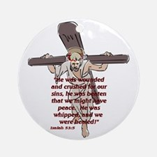 For our sin's Ornament (Round)