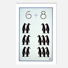 6 + 8 Penguins Postcards (Package of 8)