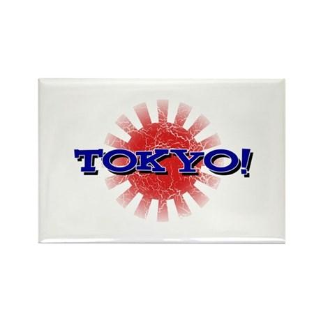 TOKYO! Rectangle Magnet