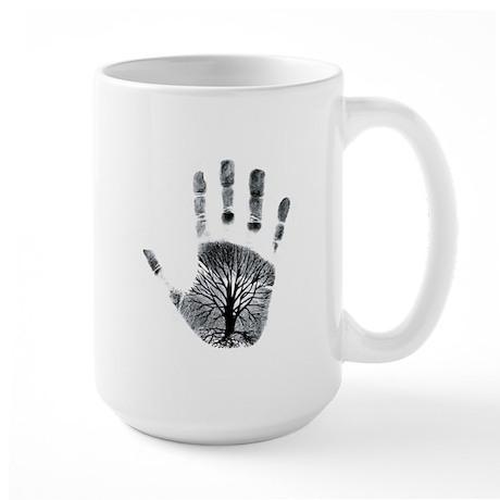 Hand Plant Large Mug