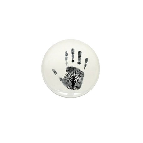 Hand Plant Mini Button (100 pack)