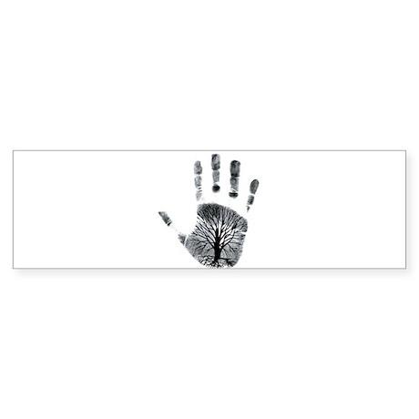 Hand Plant Bumper Sticker