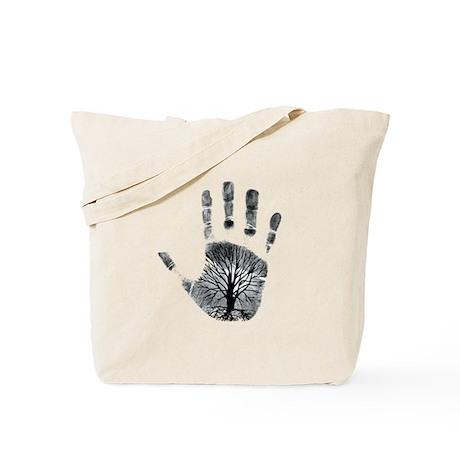 Hand Plant Tote Bag